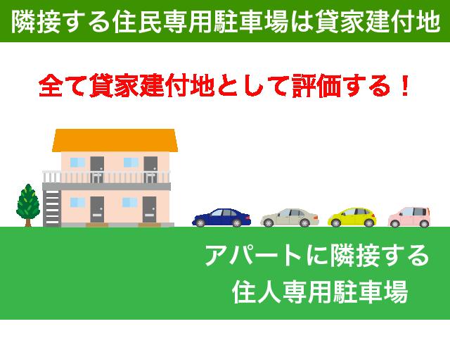 住民専用駐車場を含む